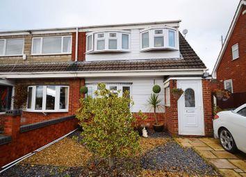 Thumbnail 3 bed semi-detached house for sale in Forsyte Road, Adderley Green, Stoke-On-Trent