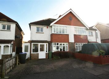 Thumbnail 3 bed semi-detached house for sale in Reigate Road, Worthing, West Sussex