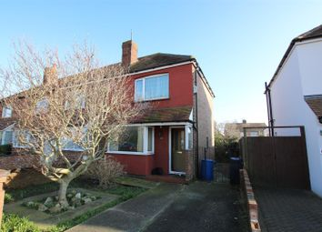 Thumbnail 3 bed end terrace house for sale in Ham Way, Worthing