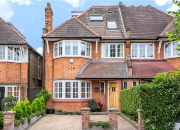 Thumbnail 5 bed semi-detached house for sale in Arundel Gardens, Winchmore Hill, London