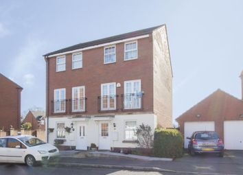 Thumbnail 3 bed semi-detached house to rent in Oystermouth Way, Coedkernew, Newport