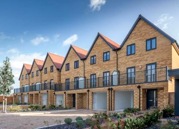 "Thumbnail 3 bedroom terraced house for sale in ""Fern"" at Hedgers Way, Kingsnorth, Ashford"