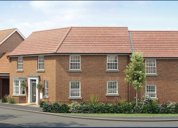"Thumbnail 4 bed semi-detached house for sale in ""Highclere"" at Crosstrees, Allotment Road, Sarisbury Green, Southampton"