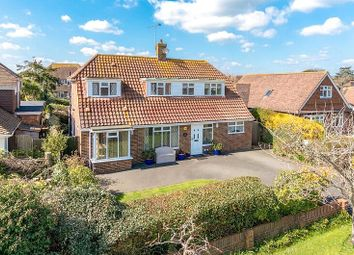 Thumbnail 4 bed detached house for sale in Meadway, Rustington, West Sussex