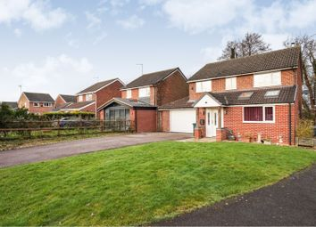 Thumbnail 4 bed detached house for sale in Brook Close, Hatton, Derby