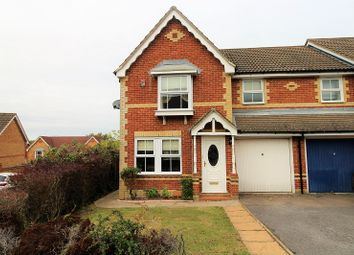 Thumbnail 3 bed end terrace house to rent in Milborne Road, Maidenbower, Crawley, West Sussex.