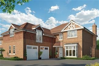 Thumbnail 5 bed detached house for sale in Willow Tree Works, Swallowfield
