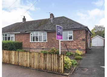 Thumbnail 2 bed semi-detached bungalow for sale in Silverton Road, Loughborough
