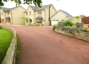 Thumbnail 4 bed detached house for sale in Valemount, Hadfield, Glossop