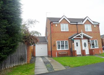 Thumbnail 2 bed semi-detached house to rent in Knaresborough Close, Bedlington