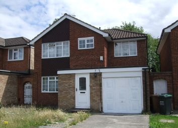 Thumbnail 4 bed detached house to rent in Lemonfield Drive, Watford
