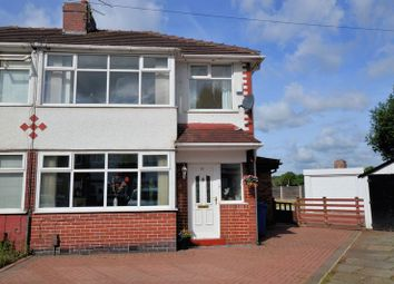 Thumbnail 3 bed semi-detached house for sale in Cleveleys Avenue, Bury