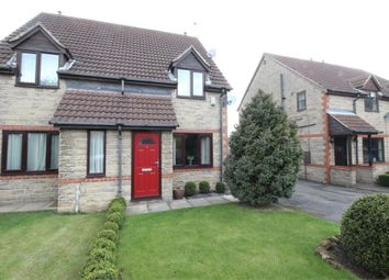 Thumbnail 2 bed semi-detached house to rent in Hunters Drive, Dinnington, Sheffield, South Yorkshire