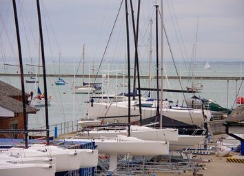Thumbnail 2 bed flat to rent in Medina Road, Cowes
