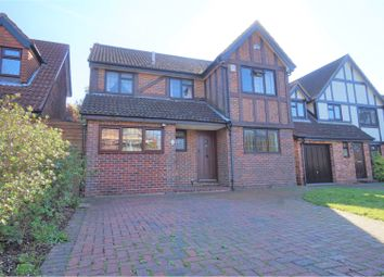 Thumbnail 4 bed detached house for sale in Ilex Crescent, Southampton