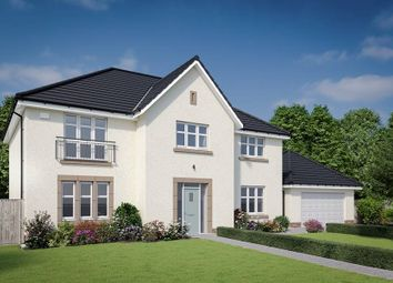 "Thumbnail 5 bedroom detached house for sale in ""The Macrae"" at Dalmahoy Crescent, Balerno"