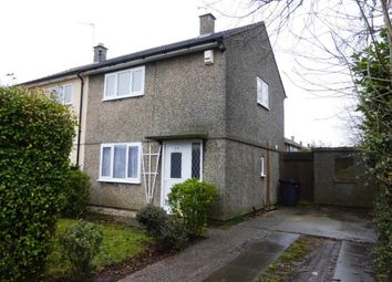 Thumbnail 2 bed semi-detached house to rent in Hillsborough Road, Glen Parva, Leicester