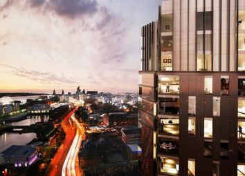 Thumbnail 1 bed flat for sale in The Tower At X1 The Quarter, Liverpool