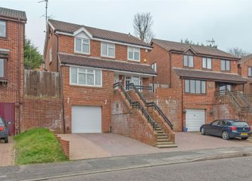 Thumbnail 4 bed detached house for sale in Spencer Close, Chatham