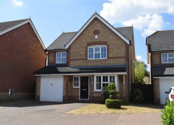 Thumbnail 4 bed detached house to rent in Woolbrook Close, Rainham, Gillingham