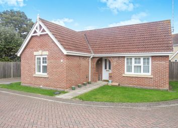 Thumbnail 2 bed detached bungalow for sale in Glendon Gardens, Leverington, Wisbech