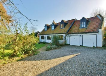 Thumbnail 4 bed detached house for sale in Crostwick Lane, Spixworth, Norwich