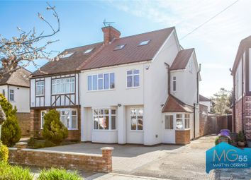 Thumbnail 4 bedroom semi-detached house for sale in Greenway, Southgate, London