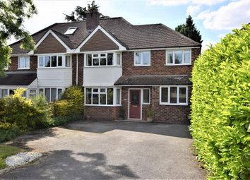 Thumbnail 4 bed semi-detached house for sale in Station Road, Knowle, Solihull