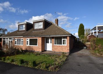 Thumbnail 3 bed semi-detached bungalow for sale in Brookside Close, Shepshed, Loughborough