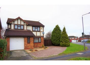 Thumbnail 4 bedroom detached house for sale in Darwin Road, Nottingham