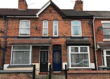 Thumbnail 2 bed terraced house to rent in Somerville Street, Crewe