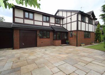 Thumbnail 4 bed detached house for sale in Ellenbrook Road, Worsley, Manchester