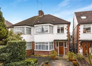 Thumbnail 3 bed semi-detached house for sale in Longmore Avenue, Barnet, Hertfordshire