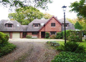 Thumbnail 4 bed detached house for sale in Lower Pennington Lane, Pennington, Lymington, Hampshire