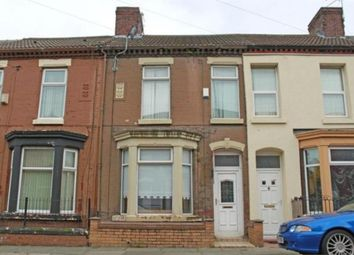 Thumbnail 3 bed terraced house to rent in Newman Street, Kirkdale, Liverpool