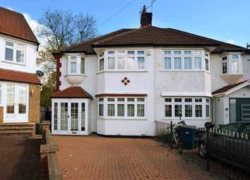 Thumbnail 3 bed semi-detached house for sale in Sandringham Gardens, London