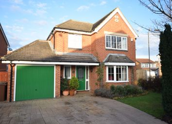Thumbnail 4 bed detached house for sale in Clover Walk, Upton, Pontefract