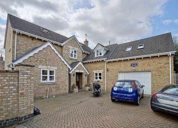 Thumbnail 4 bedroom detached house for sale in Park Close, Holme, Peterborough