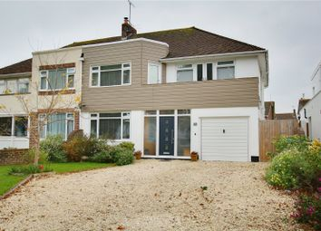 Thumbnail 4 bed semi-detached house for sale in Sea Lane, Goring By Sea, Worthing, West Sussex