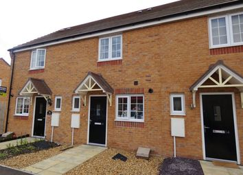 Thumbnail 2 bed terraced house for sale in Felix Close, Cardea, Peterborough, Cambridgeshire