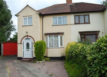 Thumbnail 3 bed semi-detached house for sale in Crowther Grove, Wolverhampton
