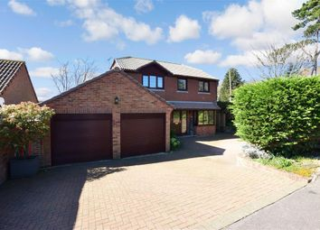 Thumbnail 4 bed detached house for sale in Saxon Close, Hythe, Kent