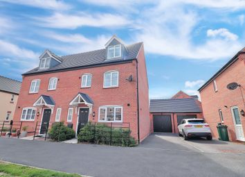 Thumbnail 4 bed semi-detached house for sale in Rowton Way, Boulton Moor, Derby