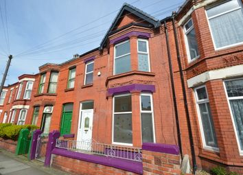 Thumbnail 4 bedroom terraced house to rent in Milton Road, Waterloo, Liverpool
