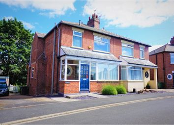 Thumbnail 3 bedroom semi-detached house for sale in The Crescent, Whitkirk, Leeds