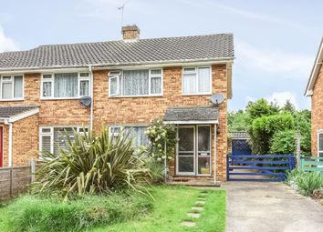 Thumbnail 3 bed semi-detached house for sale in Oakington Drive, Sunbury-On-Thames