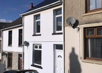 Thumbnail 3 bed terraced house to rent in Treharne Street, Merthyr Vale