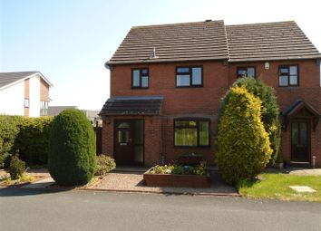 Thumbnail 3 bed semi-detached house for sale in Montgomery Way, Shrewsbury