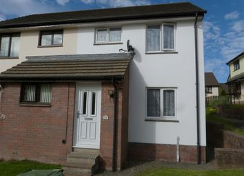 Thumbnail 2 bed semi-detached house to rent in Holwill Drive, Torrington, Devon