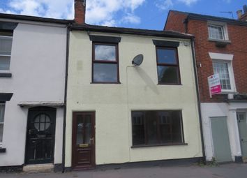Thumbnail 2 bed terraced house for sale in High Street, Uttoxeter